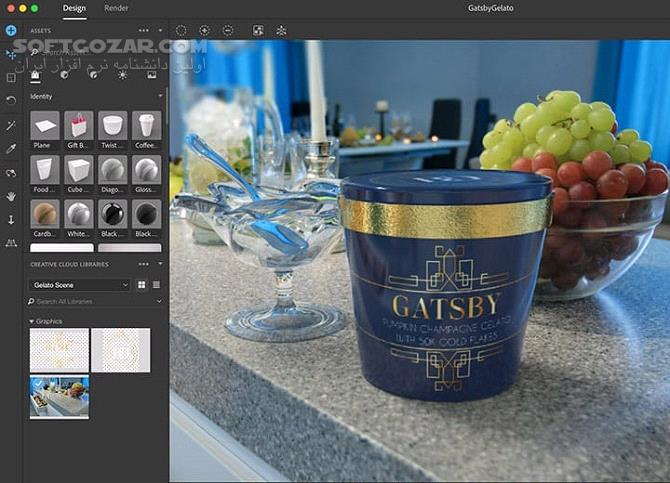 Adobe Dimension CC 2019 v2 2 1 macOS 2 2 1 تصاویر نرم افزار  - سافت گذر