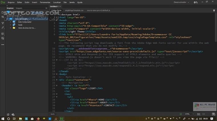 Adobe Dreamweaver 2020 20 0 0 15196 macOS تصاویر نرم افزار  - سافت گذر