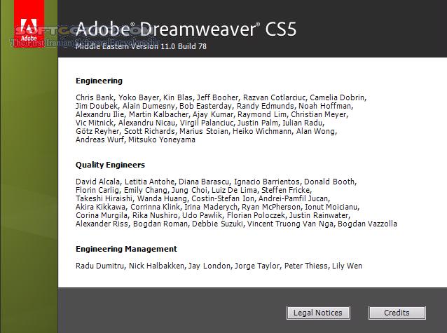 Adobe Dreamweaver CS5 5 v11 5 Build 209 ME Portable تصاویر نرم افزار  - سافت گذر