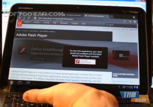 Adobe Flash Player 11 1 115 63 for Android تصاویر نرم افزار  - سافت گذر