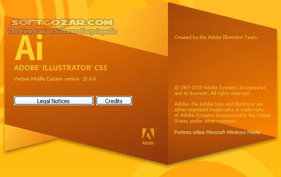 Adobe Illustrator CS5 15 0 0 ME Portable تصاویر نرم افزار  - سافت گذر
