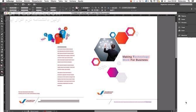 Adobe Indesign CC 2019 14 0 3 433 Portable macOS 14 0 3 تصاویر نرم افزار  - سافت گذر