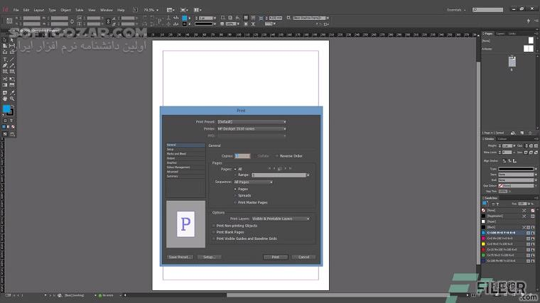 Adobe Indesign 2020 15 0 1 209 macOS تصاویر نرم افزار  - سافت گذر