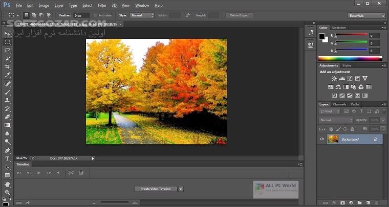 Adobe Photoshop 2020 21 0 2 57 macOS تصاویر نرم افزار  - سافت گذر
