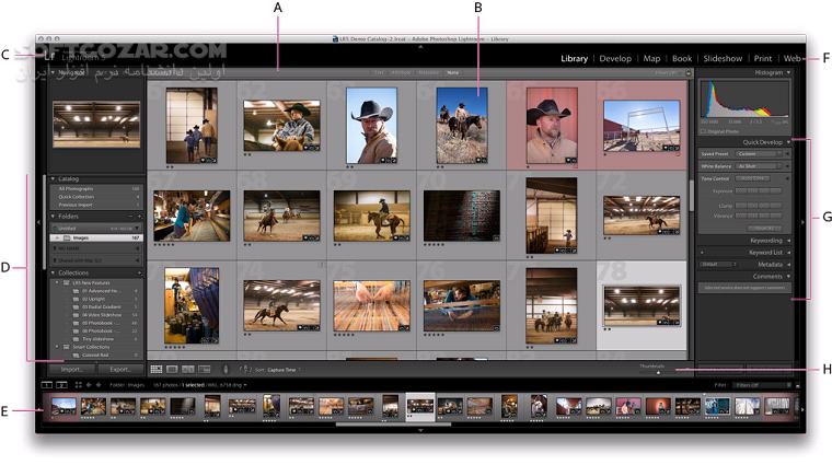 Adobe Photoshop Lightroom Classic 2020 9 1 0 10 macOS تصاویر نرم افزار  - سافت گذر