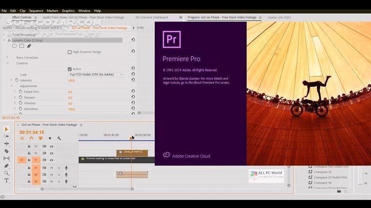 Adobe Premiere Pro 2021 v15 2 0 35 2020 Rush 1 5 62 Win 15 2 macOS تصاویر نرم افزار  - سافت گذر