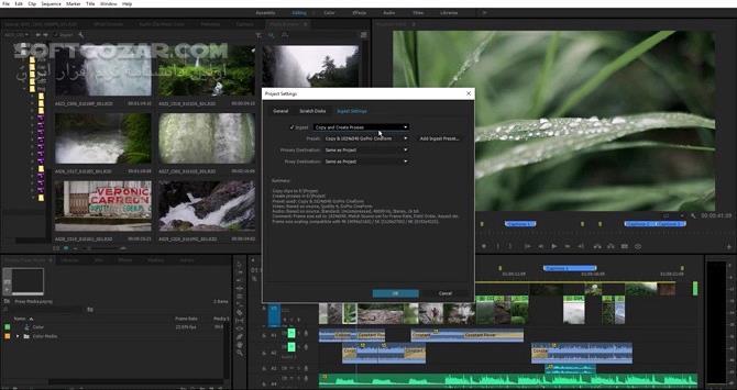 Adobe Premiere Pro CC 2019 v13 1 4 2 macOS 13 1 3 Rush CC 1 1 0 macOS تصاویر نرم افزار  - سافت گذر
