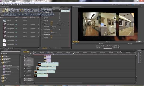 Adobe Premiere Pro CS6 v6 0 0 Update 6 0 3 تصاویر نرم افزار  - سافت گذر