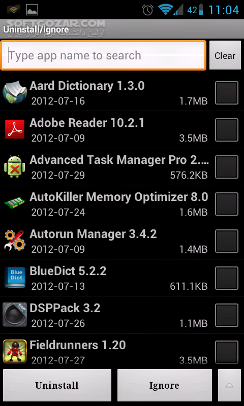 Advanced Task Manager Pro 6 4 5 for Android 4 0 تصاویر نرم افزار  - سافت گذر