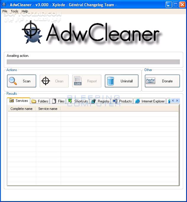 AdwCleaner 7 4 2 تصاویر نرم افزار  - سافت گذر