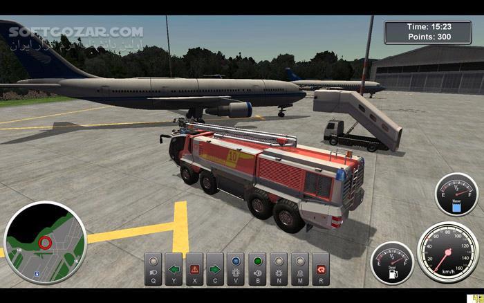 Airport Firefighters تصاویر نرم افزار  - سافت گذر