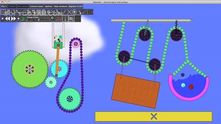 Algodoo 2 0 1 for Win Mac تصاویر نرم افزار  - سافت گذر