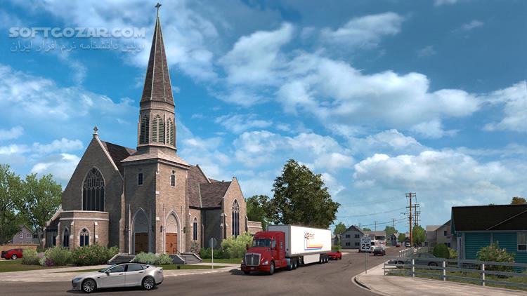 American Truck Simulator Washington PROPER تصاویر نرم افزار  - سافت گذر