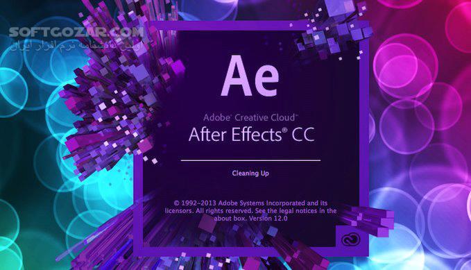 آموزش فارسی After Effects CC تصاویر نرم افزار  - سافت گذر