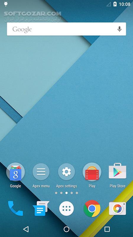 Apex Launcher Pro 4 8 9 for Android 4 0 تصاویر نرم افزار  - سافت گذر