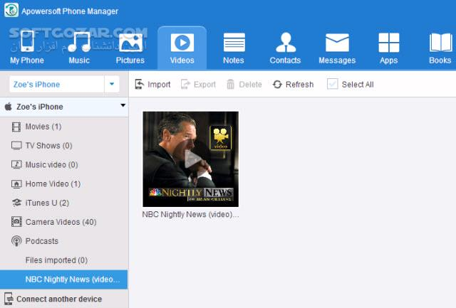 ApowerManager (Phone Manager) 3 2 4 1 تصاویر نرم افزار  - سافت گذر