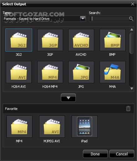 ArcSoft MediaConverter 8 0 0 21 تصاویر نرم افزار  - سافت گذر