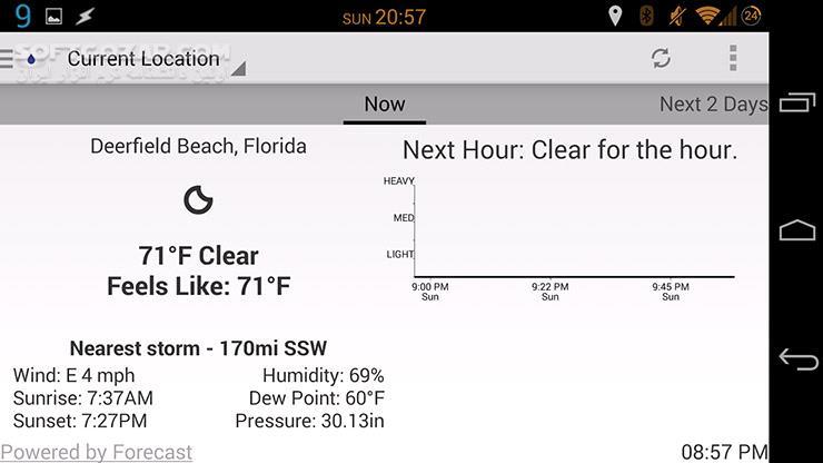 Arcus Weather Pro 6 0 0 6 for Android 4 0 تصاویر نرم افزار  - سافت گذر