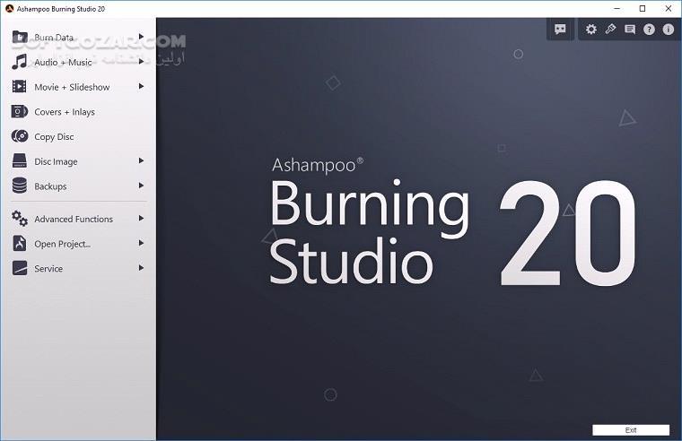 Ashampoo Burning Studio 21 3 0 42 تصاویر نرم افزار  - سافت گذر