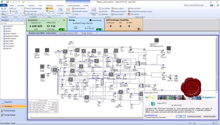AspenTech AspenONE 9 (35 0 0 270) v10 Engineering Video Training AspenONE 9 1 تصاویر نرم افزار  - سافت گذر
