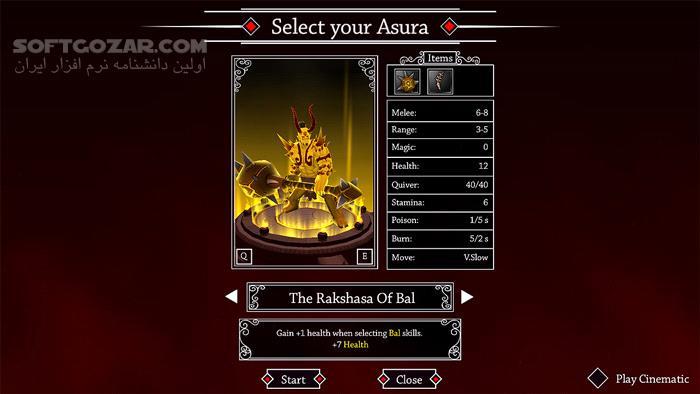 Asura تصاویر نرم افزار  - سافت گذر