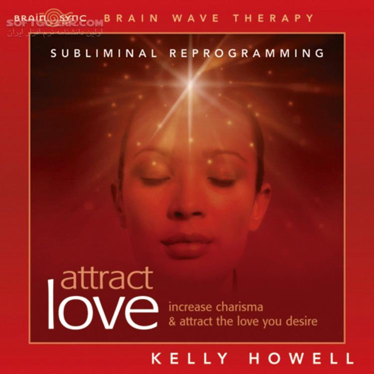 Attract Love Brain Wave Subliminal by Kelly Howell تصاویر نرم افزار  - سافت گذر