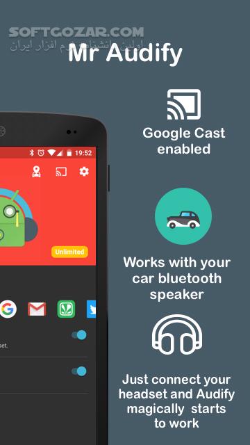 Audify Notification Reader 2 9 for Android 4 4 تصاویر نرم افزار  - سافت گذر