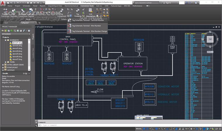 Autodesk AutoCAD Electrical 2020 0 1 2019 1 تصاویر نرم افزار  - سافت گذر