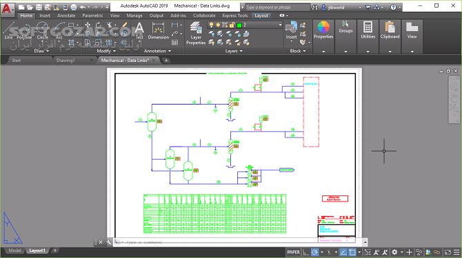 Autodesk AutoCAD Mechanical 2020 0 1 2019 1 تصاویر نرم افزار  - سافت گذر