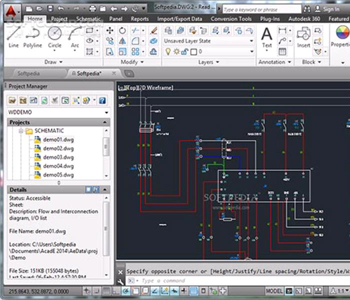 Autodesk AutoCAD Electrical 2016 SP1 x86 x64 تصاویر نرم افزار  - سافت گذر