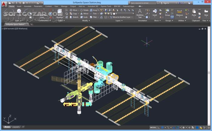 Autodesk AutoCAD Mechanical 2018 1 1 x86 x64 تصاویر نرم افزار  - سافت گذر