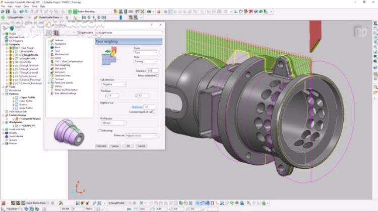 Autodesk FeatureCAM Ultimate 2020 2018 3 4 تصاویر نرم افزار  - سافت گذر