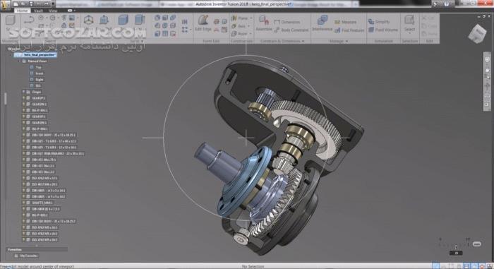 Autodesk Inventor Professional 2019 3 2018 3 4 2017 SP1 LT تصاویر نرم افزار  - سافت گذر