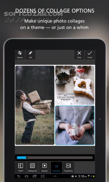 Autodesk Pixlr 3 0 3 for Android 4 0 تصاویر نرم افزار  - سافت گذر