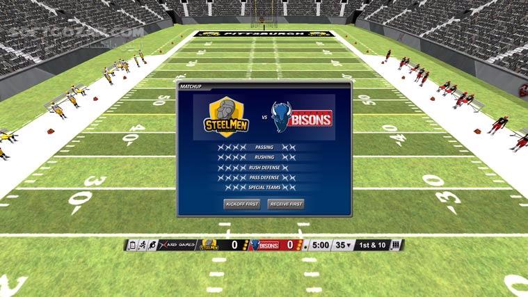 Axis Football 2015 تصاویر نرم افزار  - سافت گذر