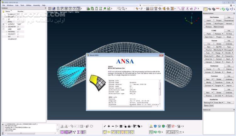 BETA CAE Systems 19 1 0 x64 تصاویر نرم افزار  - سافت گذر