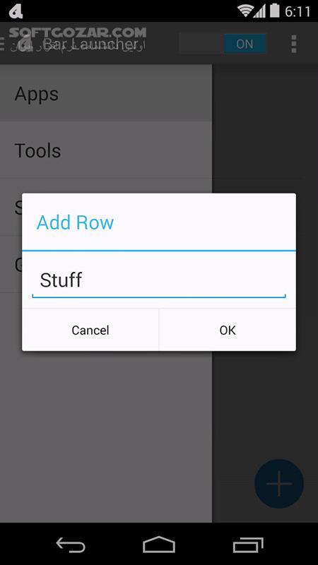 Bar Launcher 1 5 2 for Android 4 0 تصاویر نرم افزار  - سافت گذر