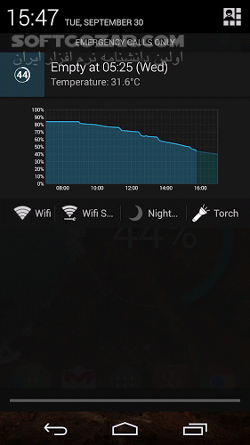 Battery Widget Reborn Pro 2 6 1 for Android 4 0 تصاویر نرم افزار  - سافت گذر