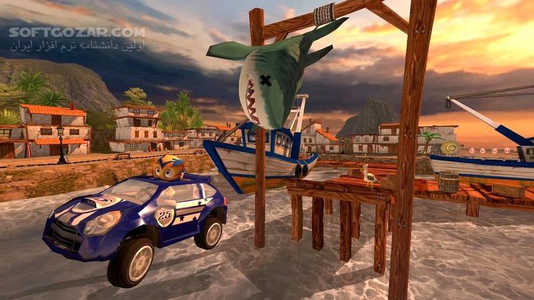 Beach Buggy Racing v1 2 22 v2 1 4 2 for Android 4 0 3 تصاویر نرم افزار  - سافت گذر