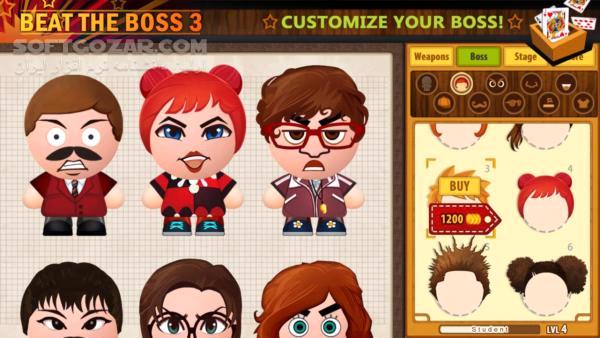 Beat the Boss 1 v2 64 2 v2 8 0 3 v2 0 0 4 v1 0 8 for Android 2 3 تصاویر نرم افزار  - سافت گذر