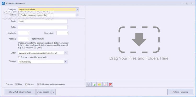 Better File Rename 6 24 Portable تصاویر نرم افزار  - سافت گذر