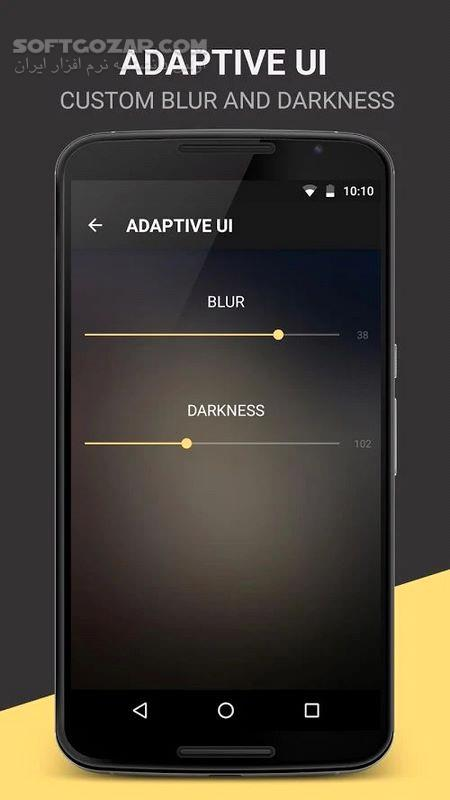 BlackPlayer EX 20 51 350 Final For Android 2 3 3 تصاویر نرم افزار  - سافت گذر