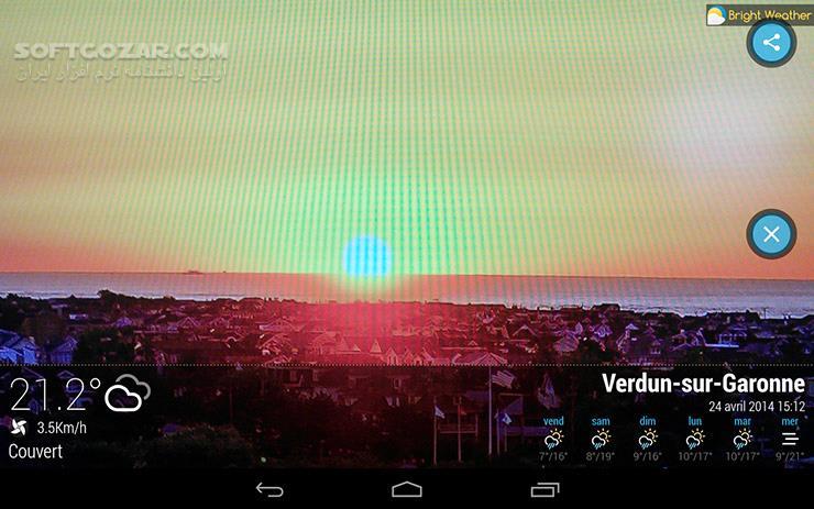 Bright Weather Premium 1 4 1 for Android 4 0 تصاویر نرم افزار  - سافت گذر