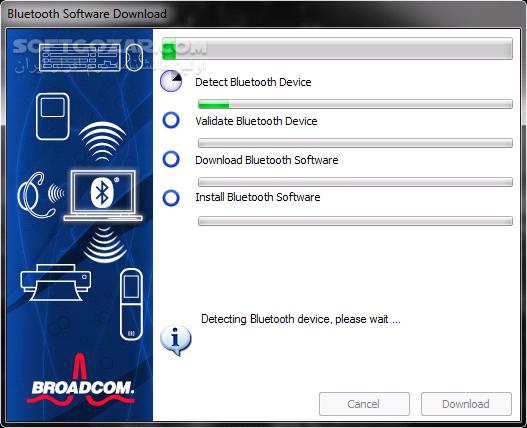 Broadcom Bluetooth Software 12 0 0 9850 تصاویر نرم افزار  - سافت گذر