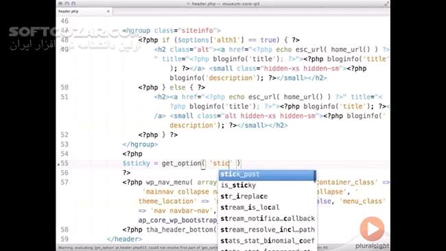 Pluralsight Building a WordPress Theme Framework with Bootstrap 3 تصاویر نرم افزار  - سافت گذر