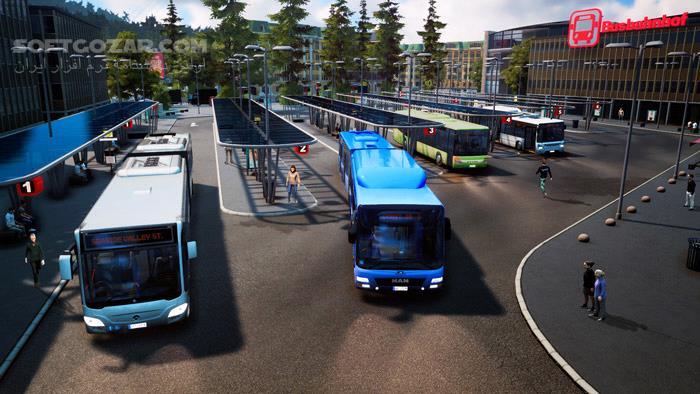 Bus Simulator 18 تصاویر نرم افزار  - سافت گذر