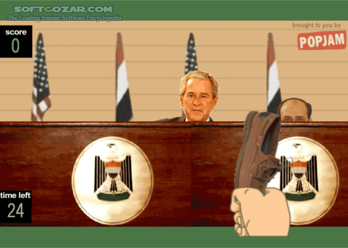 Bush Flash Game تصاویر نرم افزار  - سافت گذر