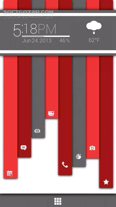 Buzz Launcher 1 9 6 13 for Android 4 0 تصاویر نرم افزار  - سافت گذر