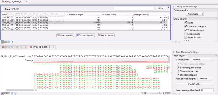 CLC Genomics Workbench v3 6 5 portable تصاویر نرم افزار  - سافت گذر