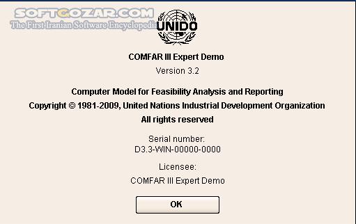 COMFAR III Expert 3 0 Full Expert 3 3 Trial تصاویر نرم افزار  - سافت گذر